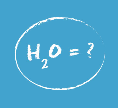 Water Chemistry Solution H20 equation
